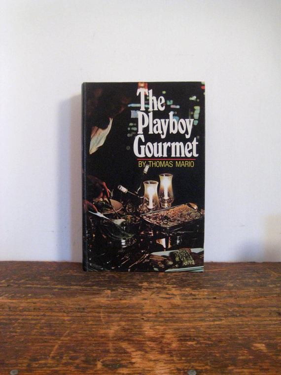 vintage coffee table book  the playboy by MysteryGirlVintage