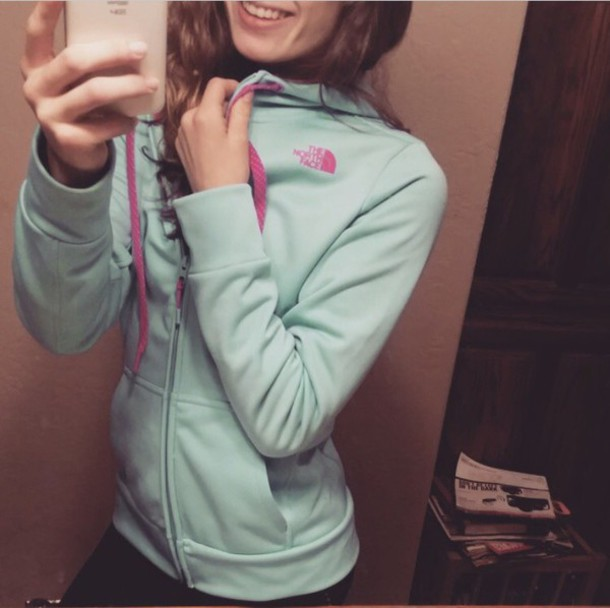 sweater north face hoodie north face pink