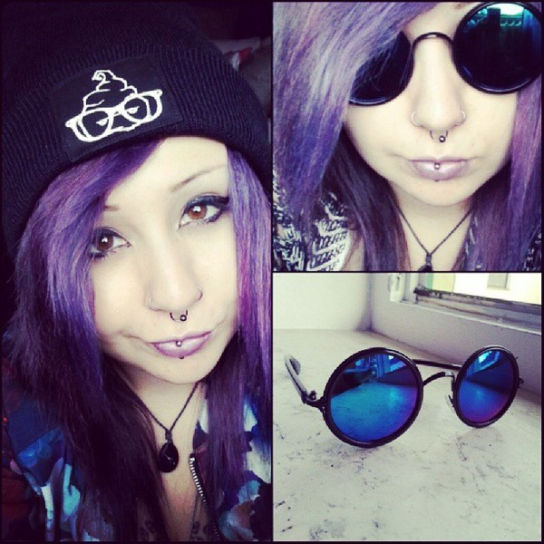 sunglasses purple violet hipster hippie sexy sweater