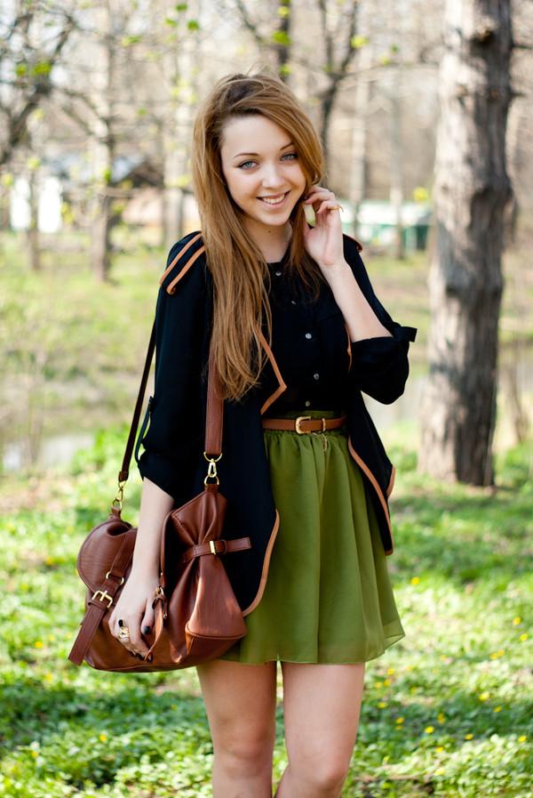 kolorowa dusza jacket shirt skirt bag belt jewels shoes