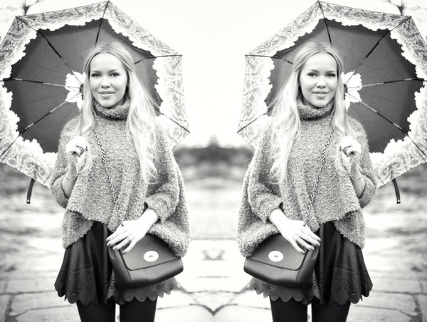 cath in the city sweater skirt bag