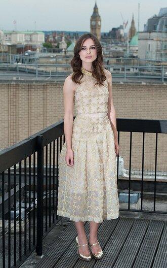 dress keira knightley