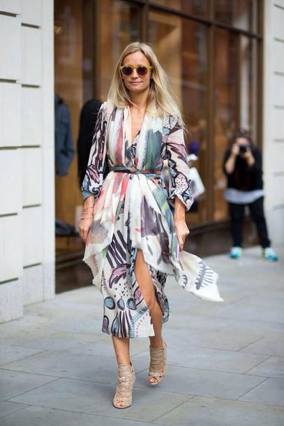 dress long prom dress long sleeves long sleeve dress patterned dress