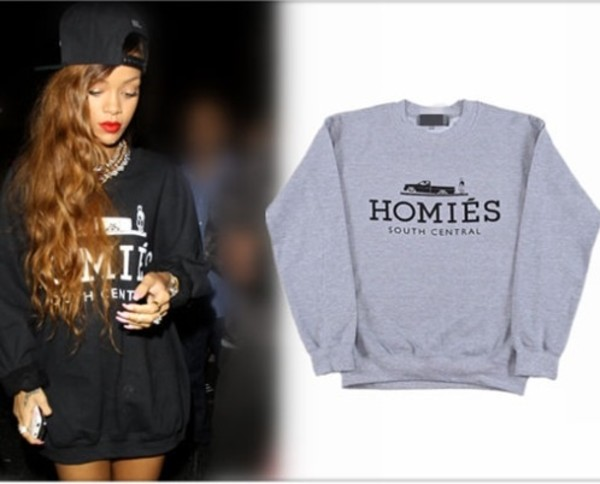 sweater rihanna