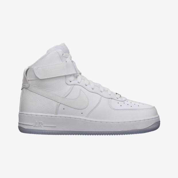 Nike Store. Nike Air Force 1 High Premium Men's Shoe
