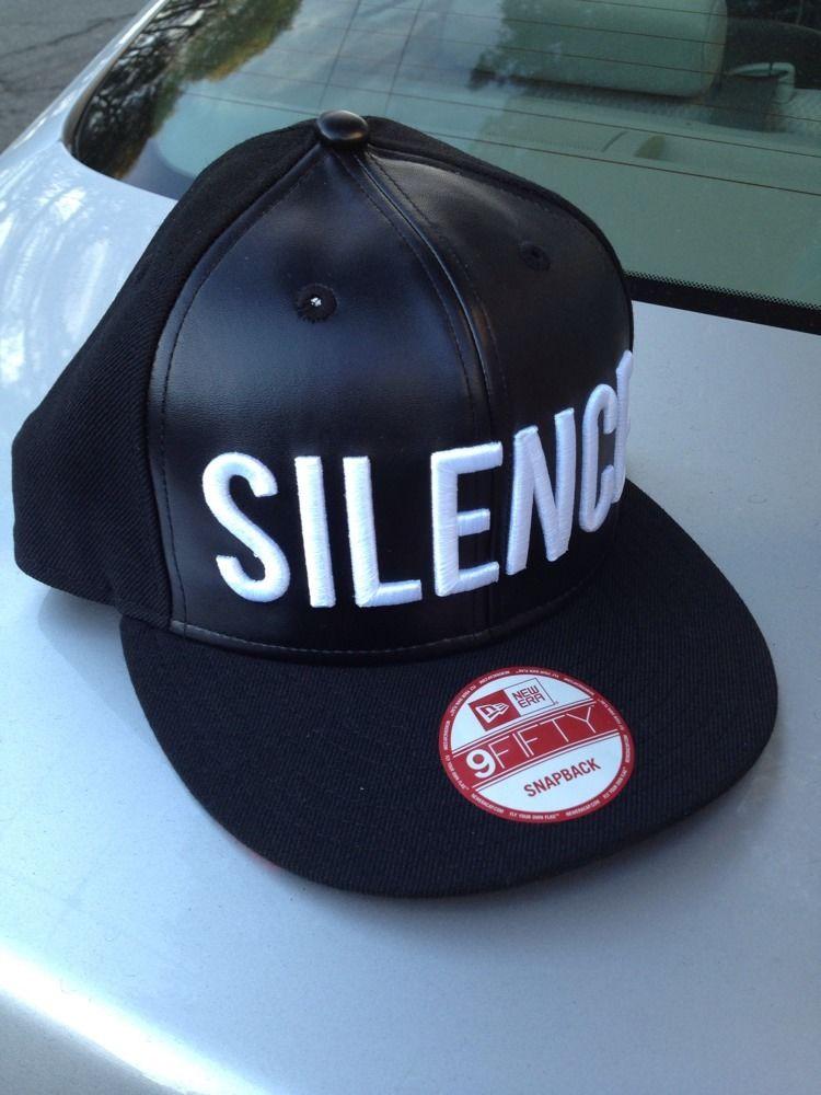 Black Scale Silence Snapback ASAP Rocky A$AP BLVCK SCVLE VSVP Illegal Funeral | eBay