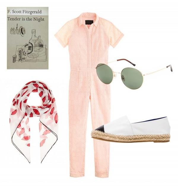 dress sunglasses scarf shoes