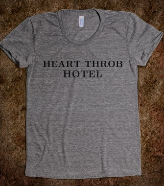 Heart Throb Hotel - Last Call - Skreened T-shirts, Organic Shirts, Hoodies, Kids Tees, Baby One-Pieces and Tote Bags Custom T-Shirts, Organic Shirts, Hoodies, Novelty Gifts, Kids Apparel, Baby One-Pieces | Skreened - Ethical Custom Apparel