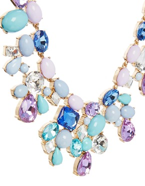 ALDO | ALDO Gleliwet Stone Set Collar Necklace at ASOS
