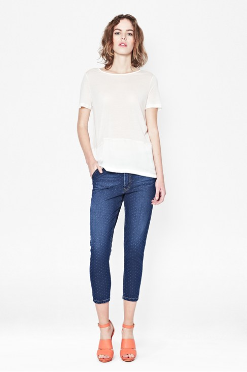 Eveie Dot Jeans - New Arrivals - French Connection Usa