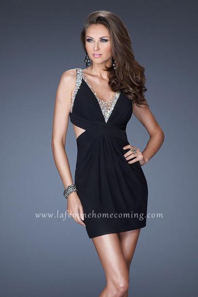 dress la femme 19530 homecoming dress