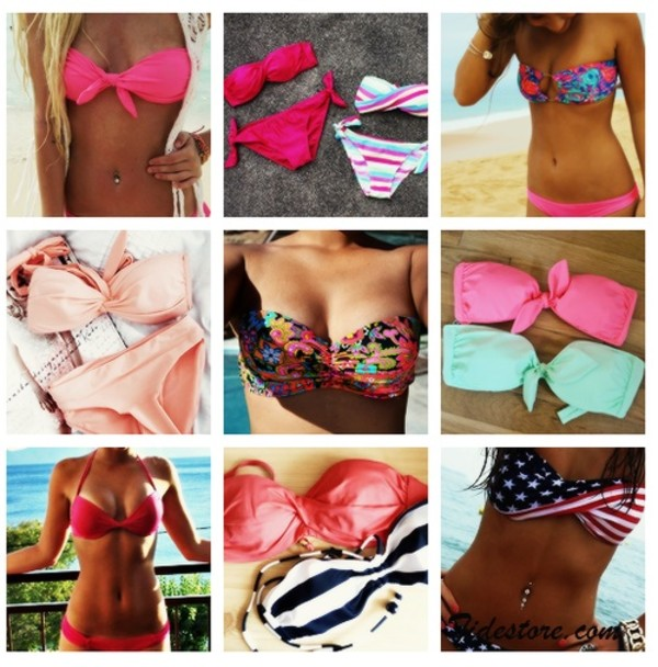 swimwear maillot de bain roses tights instagram pink multicolor bikini rose blush light pink baby pink miu miu beach underwear