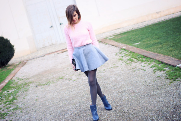 fashion quite jewels sweater skirt bag shoes