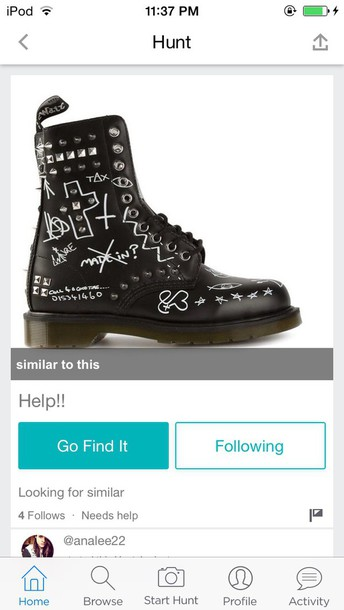 shoes emo leather boots black boots gothic boots