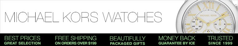 Michael Kors watches at Ice online AU. Buy now from our great watches collection