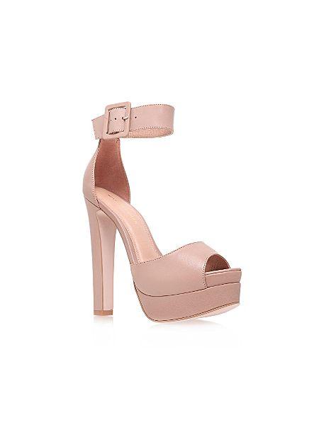 KG Halo high heel platform court shoes Nude - House of Fraser