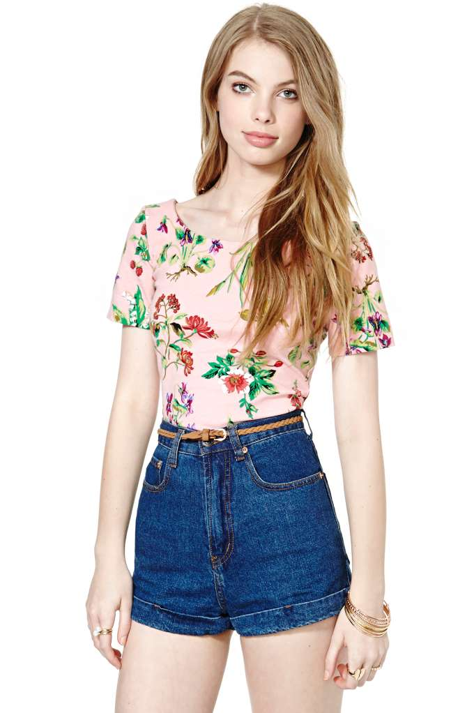 Betsey Johnson Wild Strawberry Top | Shop Vintage at Nasty Gal