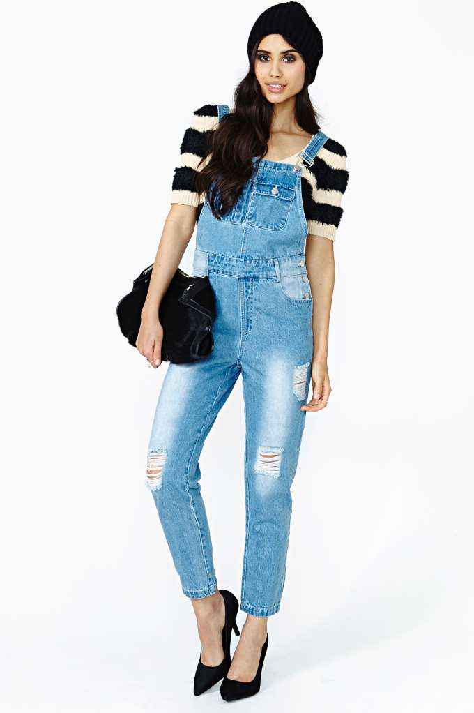 Reckless Overalls in  Clothes at Nasty Gal