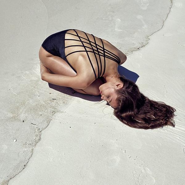 swimwear one piece swimsuit swimwear one piece strappy one piece strappy bathing suit black straps swimwear summer backless