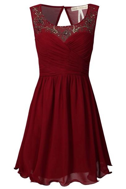 dress sparkle red dress night dress