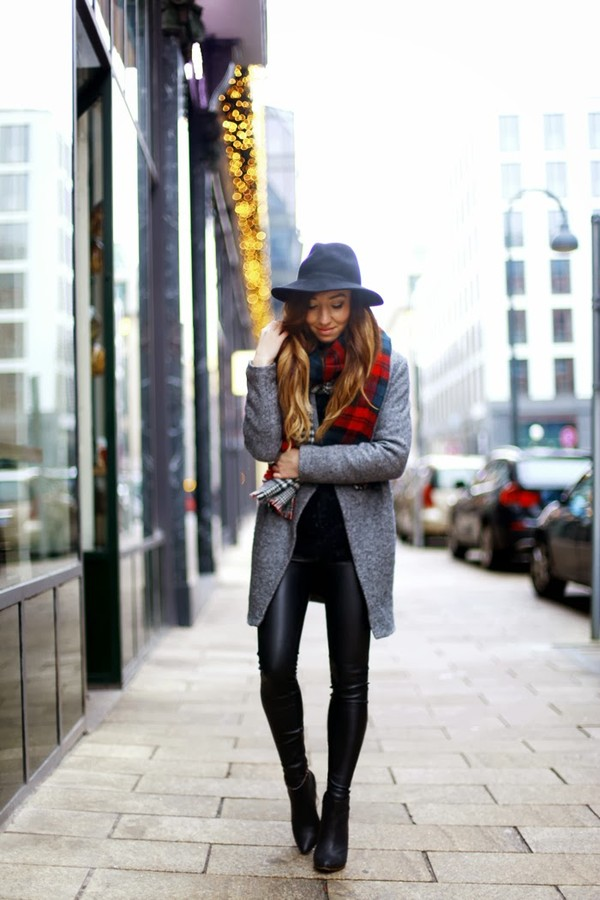 flirting with fashion coat sweater pants scarf shoes hat