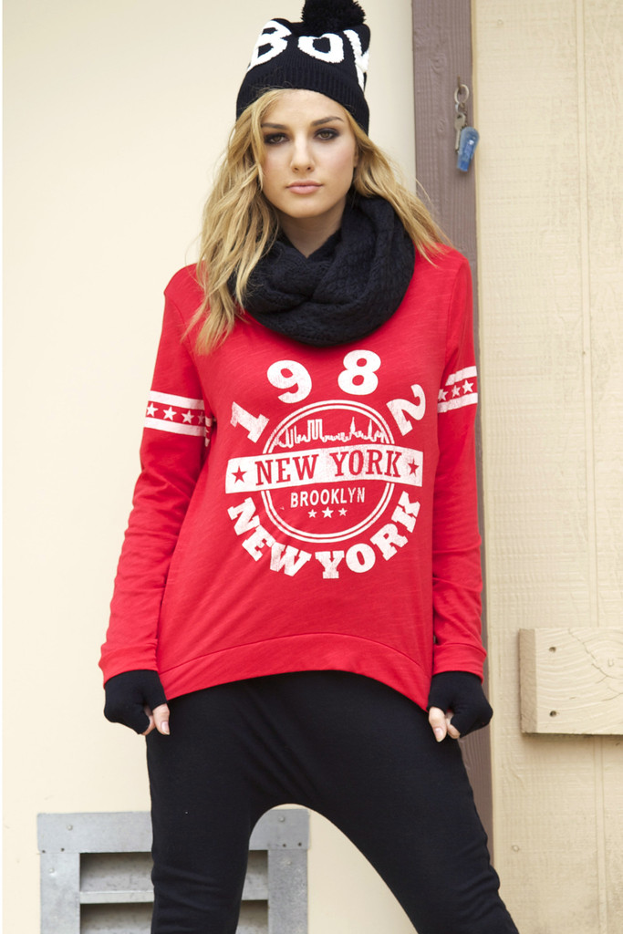 Brooklyn New York Graphic Top | Obsezz
