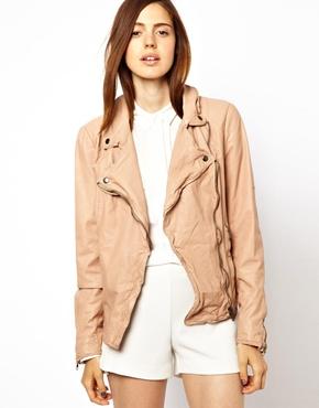 Leather Biker Jacket | ASOS