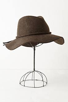 Chapeau rancher en feutre avec corde et boucle - anthropologie.com