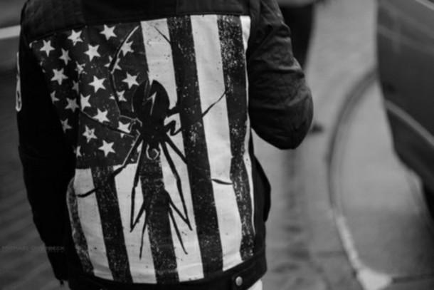 jacket my chemical romance killjoy flag