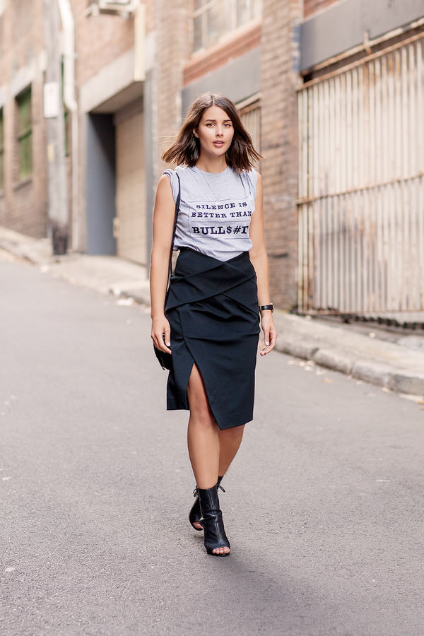 harper & harley t-shirt skirt jewels bag shoes