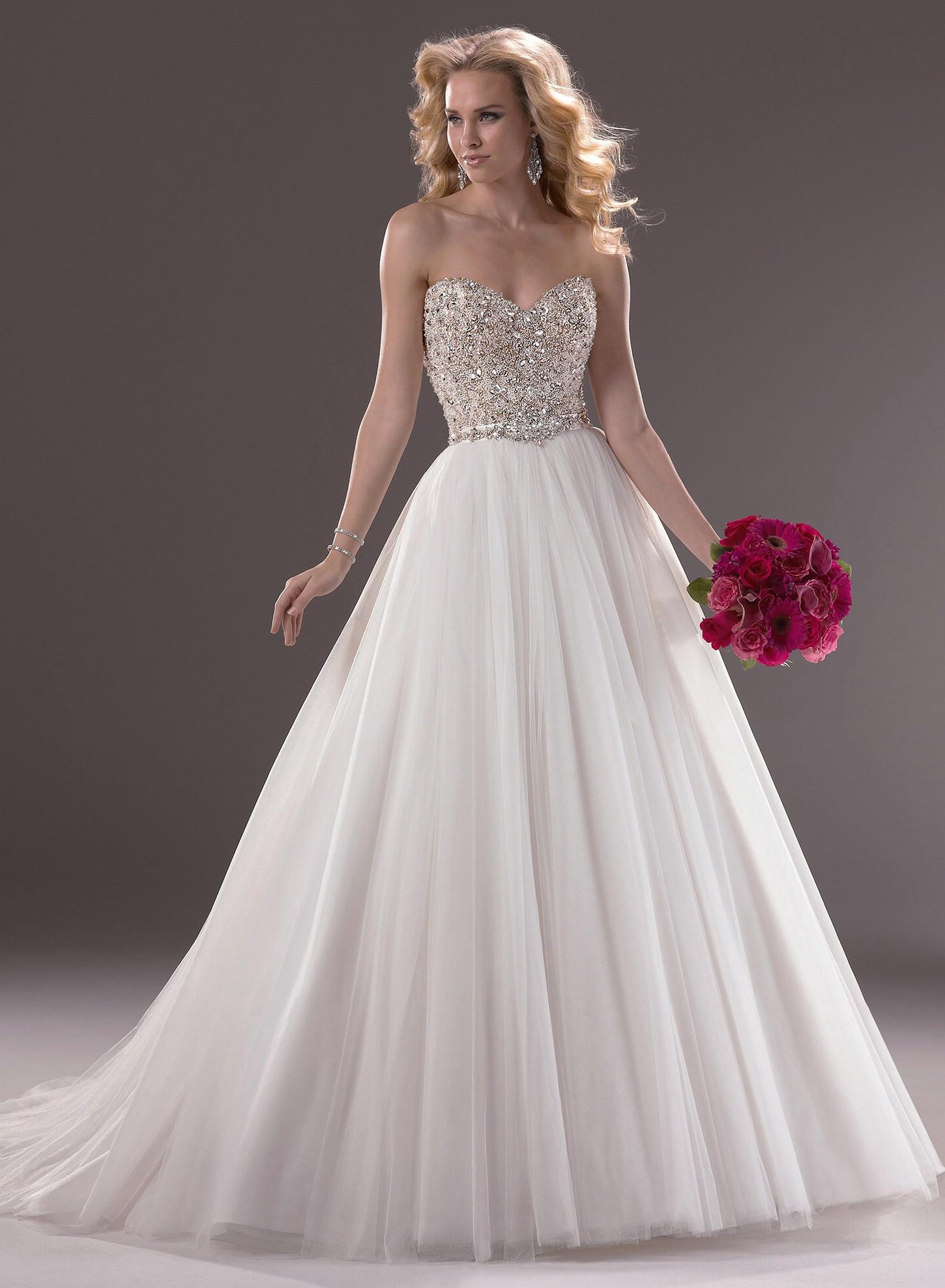 Maggie Sottero Wedding Dresses [Esme] at BestBridalPrices.com on Wanelo