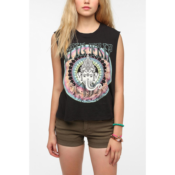 Truly Madly Deeply Epic Trip Muscle Tee - Polyvore