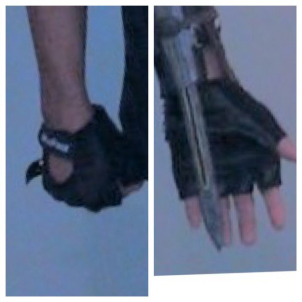 gloves biker gloves fingerless gloves leather gloves