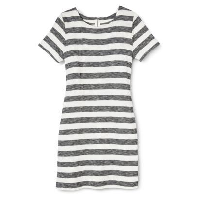 Merona® Women's Knit T-Shirt Dress - Stripes : Target
