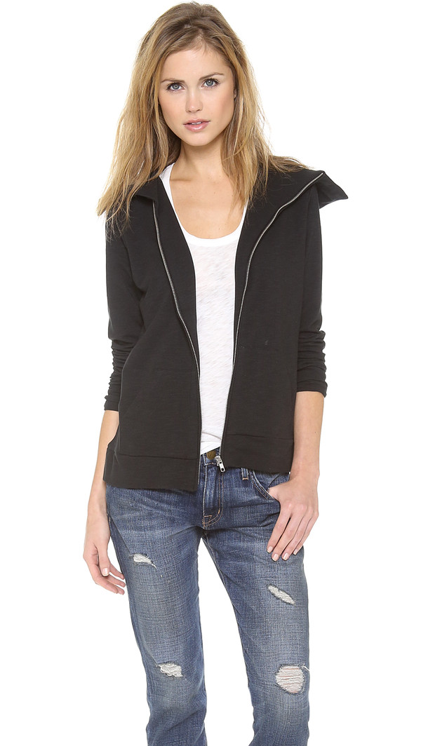 jacket joie dayva funnel neck jacket joie dayva funnel