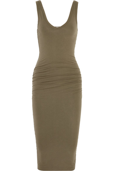 James Perse | Stretch-cotton jersey dress | NET-A-PORTER.COM