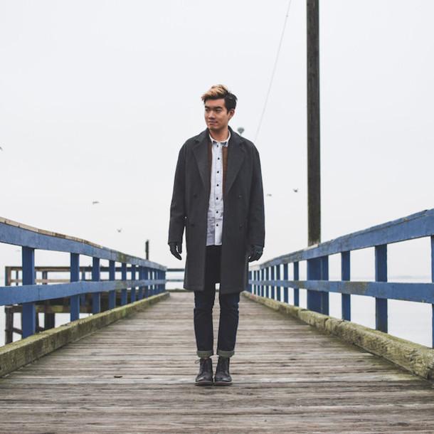 alexander liang blogger mens coat mens shirt lacoste coat jacket jeans shoes jewels gloves