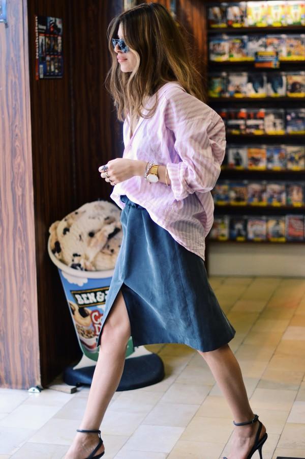 maja wyh blouse skirt shoes jewels