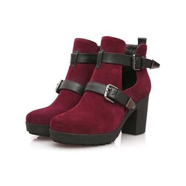 shoes heels boots style red mary jane fashion