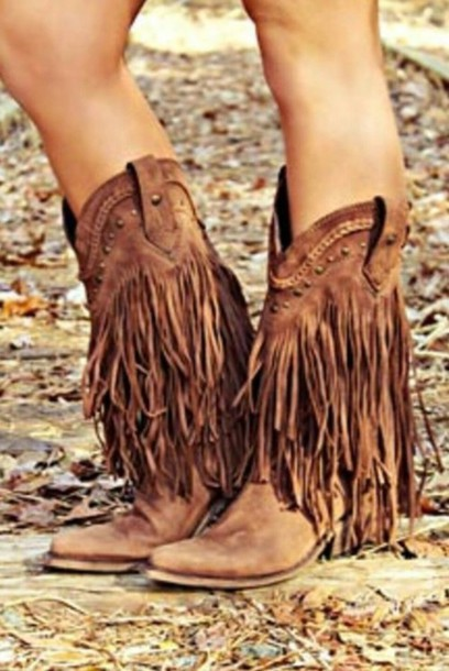 shoes boots country style
