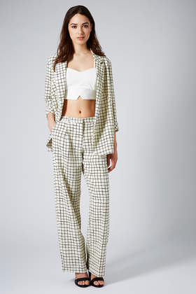 Window Pane Check Jacket and Trousers - Suits and Co-ords - Clothing - Topshop USA