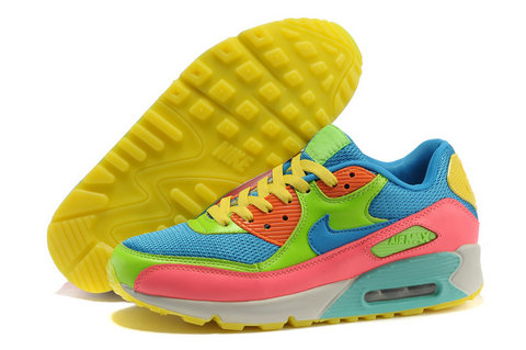 Colorful Air Max 90 Basketball Sneakers For Adults Onsale [rainbow-04] - $86.00 : Nike Rainbow Shoes, Purchase Rainbow Nikes Dunks Colorful Nikes Cheap