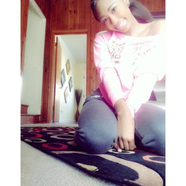 pajamas pink victorasecret louge comfy  #bruhdatslexxiz