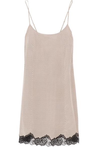 Stella McCartney|Ellie Leaping printed stretch-silk chemise|NET-A-PORTER.COM