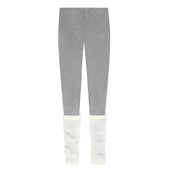 Winter New Elastic Warm Knit Thigh Fashion Leggings