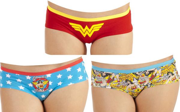 Wonder Woman Panty Set