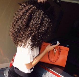 bag logo bags and purses orange