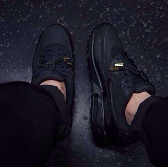 shoes air max sneakers black shoes all black everything mens shoes