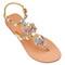 Jeweled sandals - embellished sandals - mystique sandals