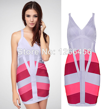 Aliexpress.com : Buy 2014 Color Block new candy colored fluorescent woman sexy beach seaside resort style Kim Kardashian ,bandage swimsuit two pieces from Reliable swimwear fabric suppliers on Lady Go Fashion Shop
